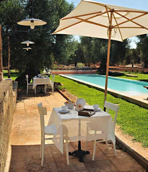 Masseria Picca Picca - esterno piscina