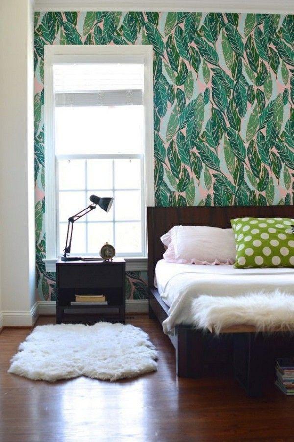 Bedroom Akzentwand Schlafzimmer Tapeten Ideen