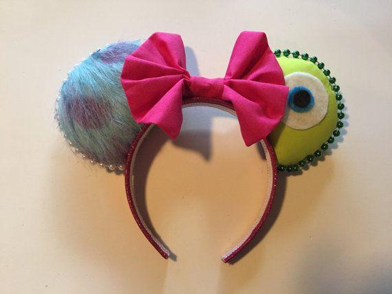 Monster's Inc. inspired Mouse Ears