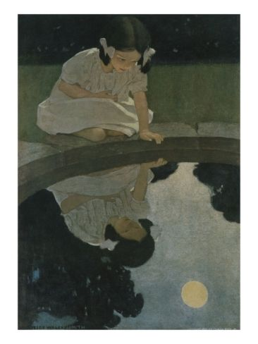 The Senses: Seeing Giclee Print by Jessie Willcox Smith at Art.com