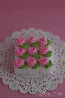 デコレーション教室 La Rose Cherie(ラ・ローズ・シェリー) -角砂糖にお花のデコレーション