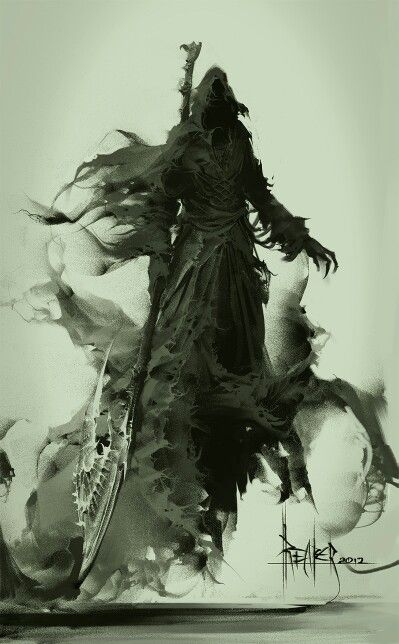 I do not carry a scythe or a hood but it is the humans representation of me. I actually look like everybody else