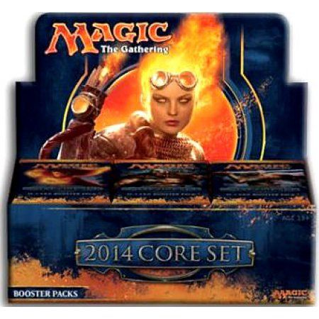 Magic The Gathering Magic 2014 Booster Box, Multicolor
