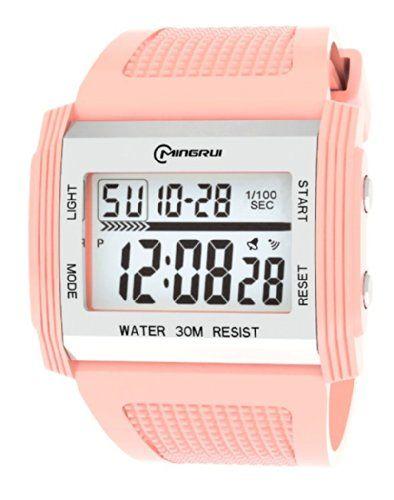 30m Water-proof Digital Boys Girls Women Sport Watch Wrist Watches