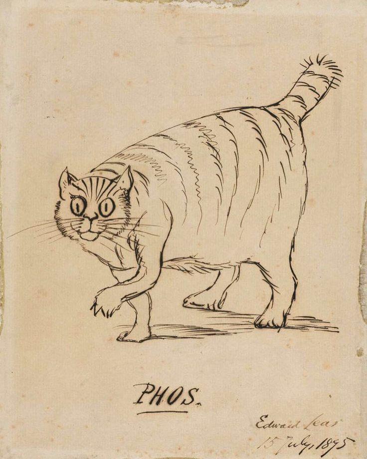 Illustration by Edward Lear.