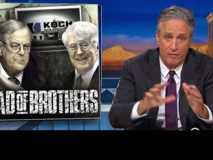 WATCH: Jon Stewart Makes 'Robber Baron' Koch Industries Regret Advertising on His Show | Alternet
