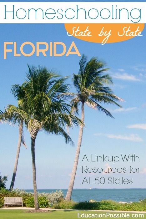 How to Homeschool in Florida - Homeschooling in the USA link-up @Education Possible
