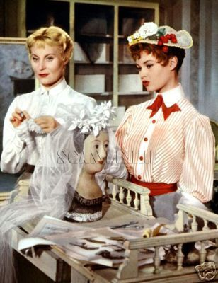 film 1955 - Les grandes manoeuvres - brigitte bardot and michele morgan