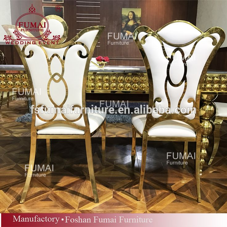 Event stainless steel furniture gold cheap king throne chair for sale