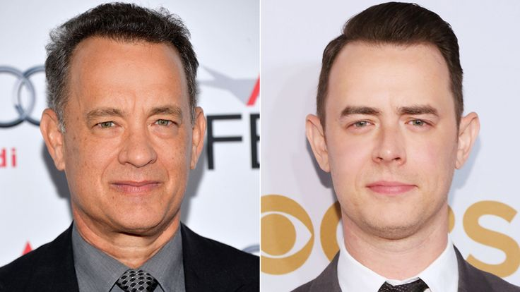 Tom and Colin Hanks: Colin is a mirror image of his father. Not only do they share looks, they also share similar personalities.