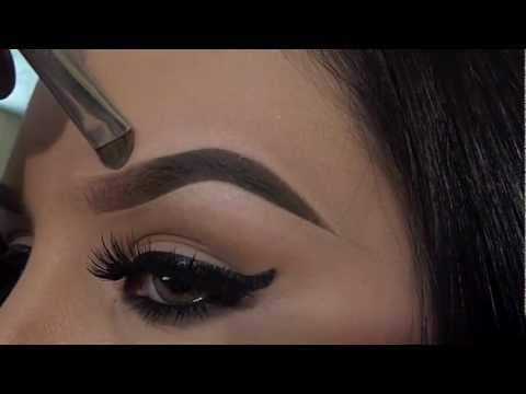 How to do your eyebrows .... Its better to try doing them after your eyebrow have been shaped either by treading, waxing or simply cutting with them with a razor,etc.