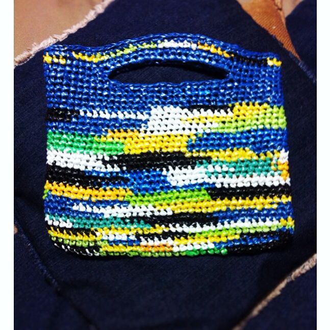 Bolsas tejidas de bolsas plasticas