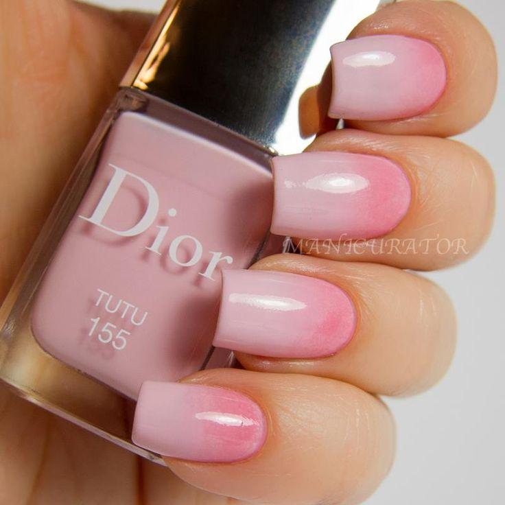 Dior - Tutu #nailart #clubedoesmalte