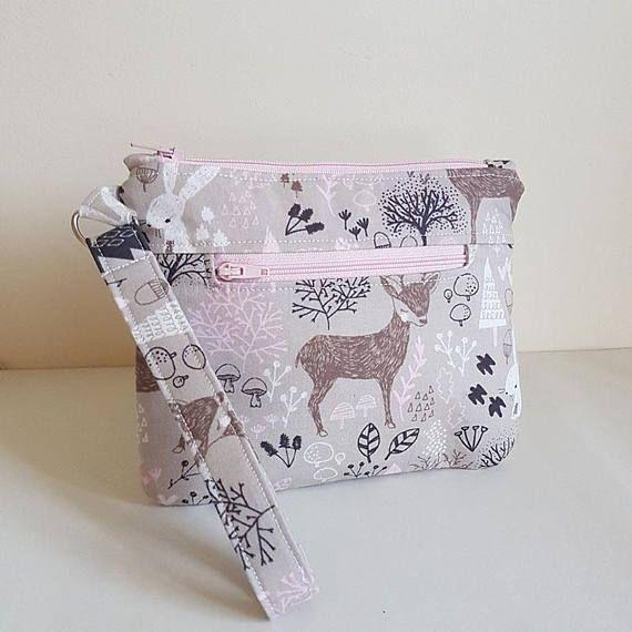 Lori Pouch PDF Sewing Pattern  zip pouch zippered wristlet