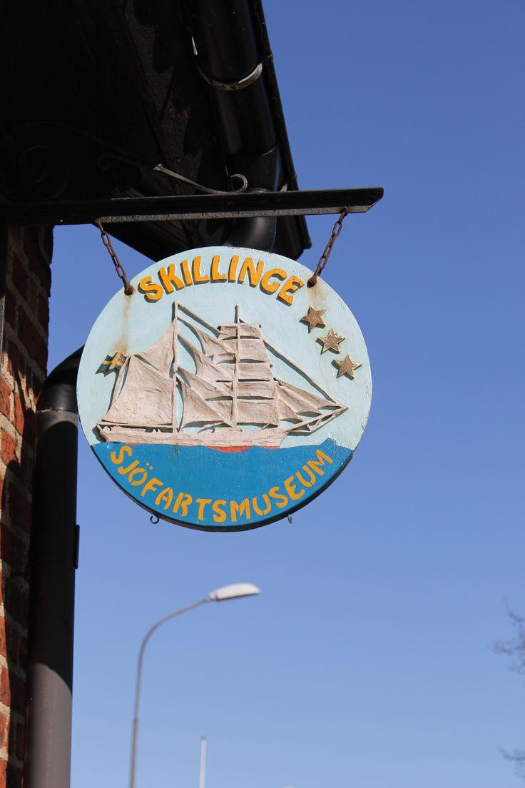 Skillinge Sjöfartsmuseum, a museum all about life at sea!