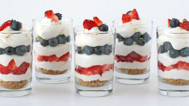 One of my favorite things about summer is the availability of delicious, fresh fruit!  Fruit is such a beautiful accent to many desserts, and in the case of these red, white and blue trifles, fruit is the perfect way to add color!  I was recently supplied with some gorgeous, organic berries from Whole Foods Market and …