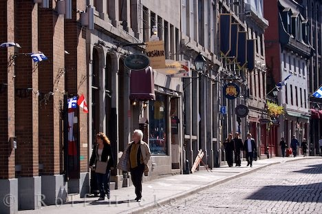 Old Montreal, Rue Saint Paul