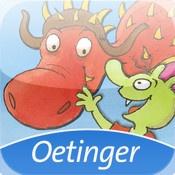 Die Olchis - Ein Drachenfest für Feuerstuhl (iOS) - Ein interaktives Kinderbuch, das sich um die Fantasiefiguren der Olchis und ihren Freund den Drachen Feuerstuhl und seinen Geburtstag dreht.