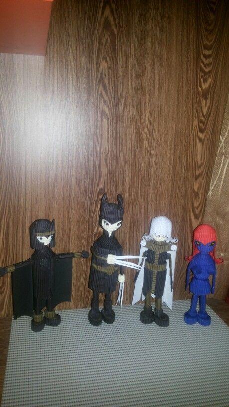 Magneto, wolferine, Storm and Mystique