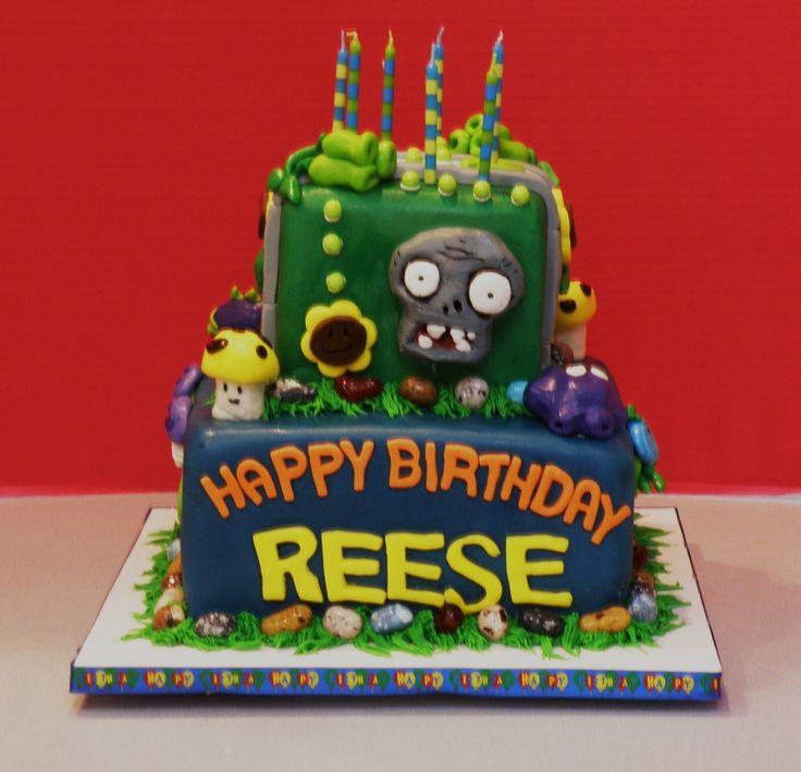 8 best Cake Ideas images on Pinterest Plants vs zombies Zombie