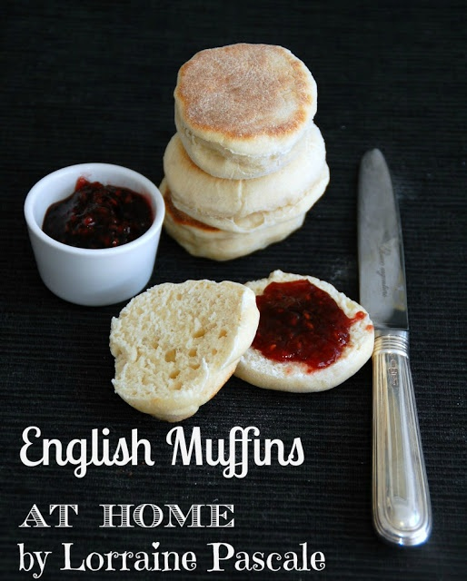 Old Fashioned English Muffins- Lorraine Pascale | Starbooks