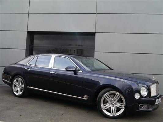 Used 2011 (61 reg) Blue Bentley Mulsanne 6.8 V8 4dr Auto for sale on RAC Cars