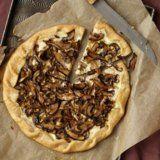Mushroom Tart Recipe by Carla Hall