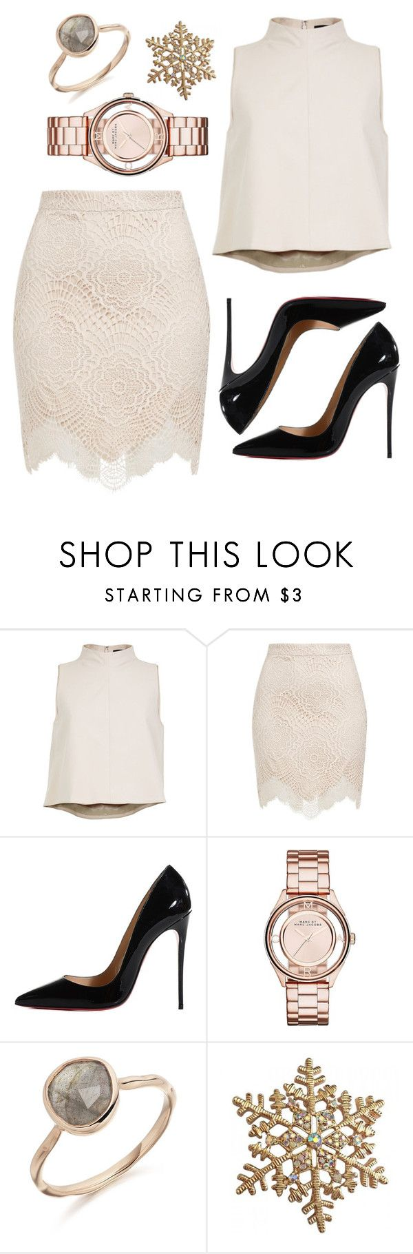 """Untitled #68"" by rodoulla97 on Polyvore featuring TIBI, Christian Louboutin and Marc by Marc Jacobs"