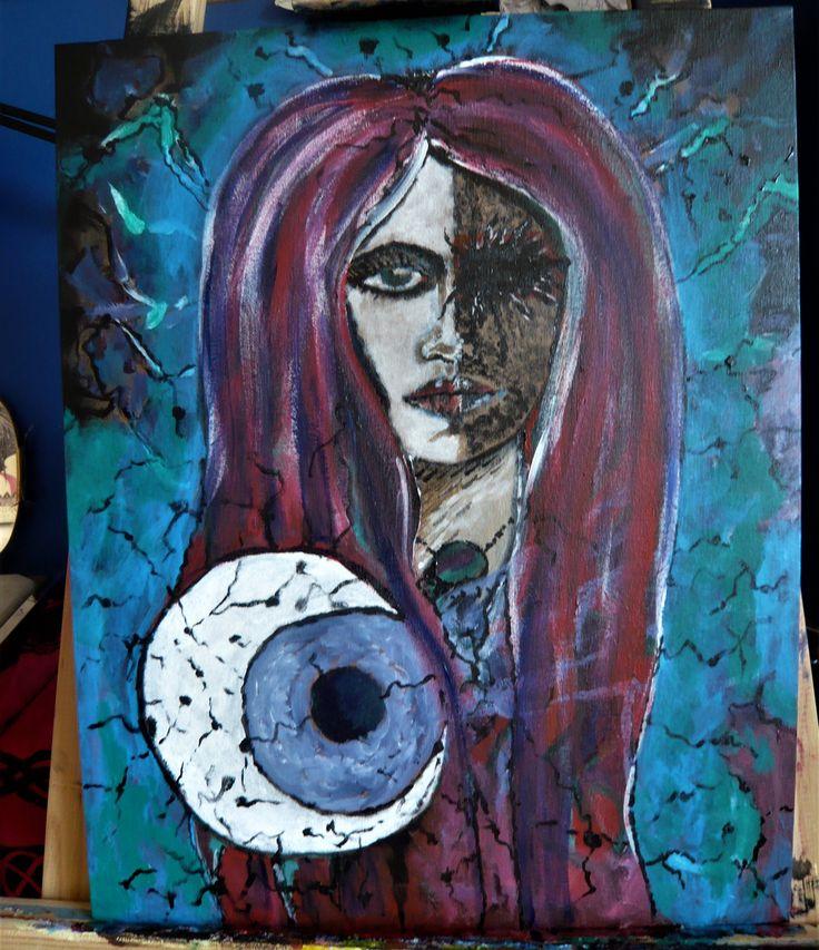 #acrilico #acrylicpainting #acrylic #pintura #painting #artecontemporaneo #arte #art #artista #tattooartist #color #chile #wasodemattos