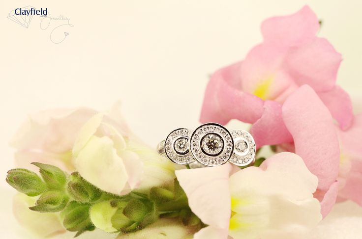 Gorgeous new diamond trilogy by Clayfield Jewellery in Nundah Village, North Brisbane