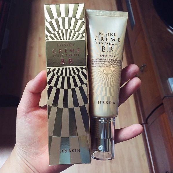 Entdecke die B.B Cream *Prestige Crème D'Escargot B.B* von IT'S SKIN mit der innovativen Formel aus 21% Mucin-Extrakt (Schneckensekret). https://www.seemyskin.de/make-up/grundierung/ (Bild: _hug_you_) #seemyskin #itsskin #itsskindeutschland #itsskinofficial #kbeauty #koreanischekosmetik #makeup #beauty #koreancosmetics #koreanbeauty #bbcream #asiatischekosmetik #schönheit #bbcreme  #kbeautyblogger #kosmetik #grundierung #foundation #mucin #schneckensekret #schneckenextrakt #snail