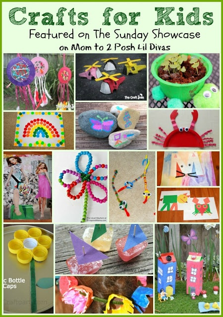 lots of great crafts for kids - perfect for summer fun or anytime