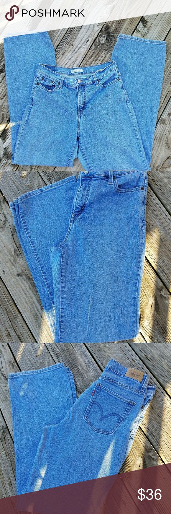 Levis 512 High Waisted Jeans Levis 512 Jeans Perfectly Slimming  Size 14 Long  High Waisted  Excellent Used Condition Levi's Jeans Boot Cut