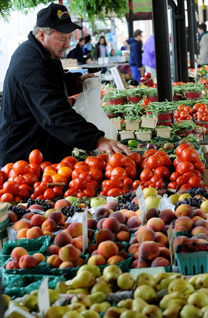 A must see in Ann Arbor is the 93-year-old Farmers Market. We're open year-round on Saturdays and on Wednesdays from 7 a.m. to 3 p.m. and 4:30 to 8:30 p.m. starting Wednesday, May 2. We're located at 315 Detroit Street, Ann Arbor, Michigan in historic Kerrytown. To learn more visit www.a2gov.org/market or search and like the Ann Arbor Farmers Market on Facebook!