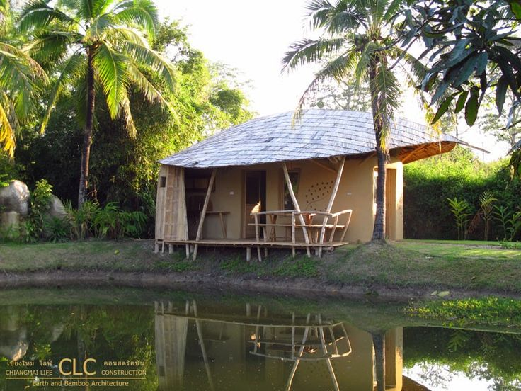 Small Cottage - Bamboo Earth Architecture - Chiangmai Life Construction