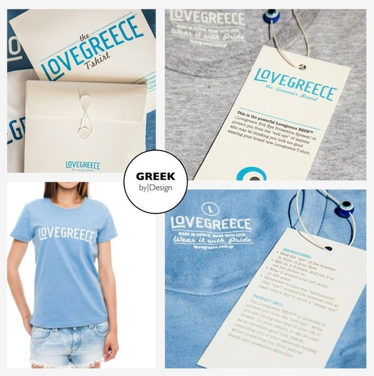 THE LOVEGREECE T-SHIRT