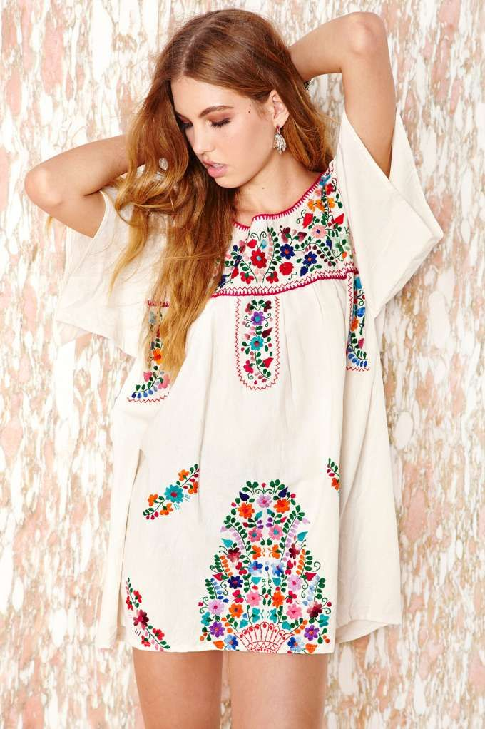 Vintage Mazatlán Dress   Shop Desert Me at Nasty Gal