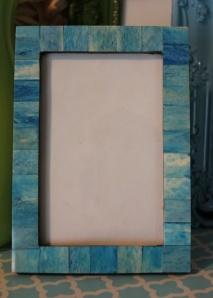 4x6 Aqua Tile Frame  www.hungouttobuy.com