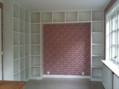 Platsbygga en bokhylla