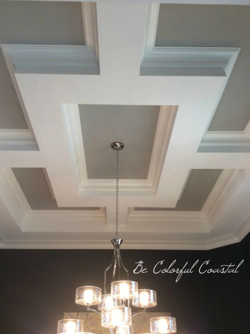 17 best ideas about coffered ceilings on pinterest for Coffered ceiling styles