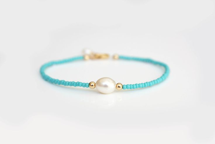 LOYALTY - Friendship bracelet, layering bracelet, karma bracelet - freshwater pearl on Etsy