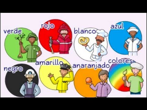 Calico Spanish - ¡Colores, colores! Spanish color Song