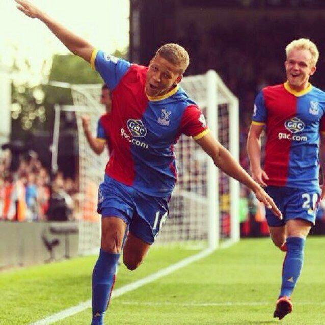 Dwight Gayle scores his first goal for the Eagles