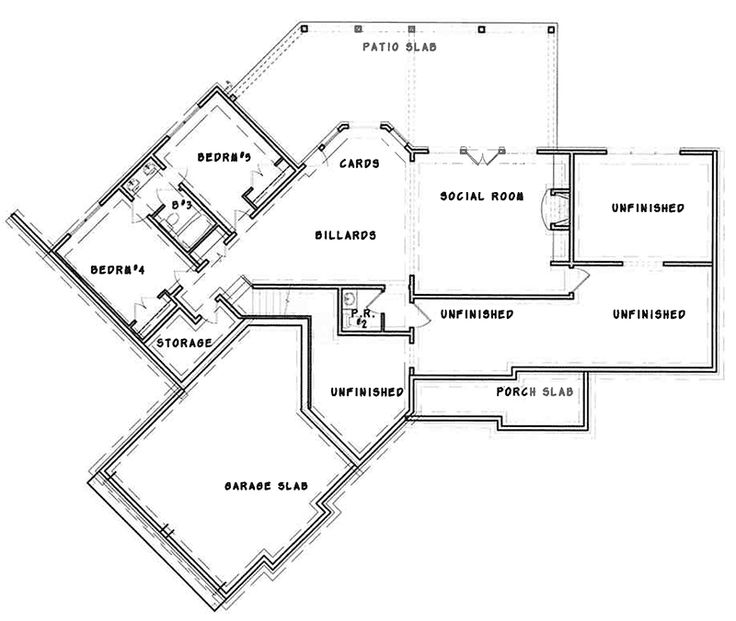 Affordable Mountain Home Floor Plans