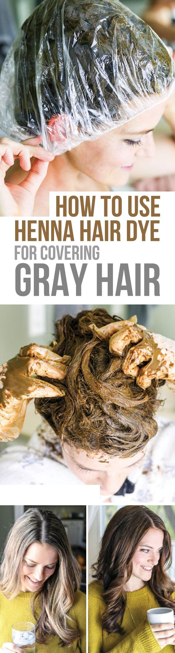 Here's a step-by-step tutorial for covering gray hair using 100% natural henna hair dye. Avoid the mistakes I made the first time I tried it! (Sponsored by Morrocco Method, my favorite brand of henna hair dye)