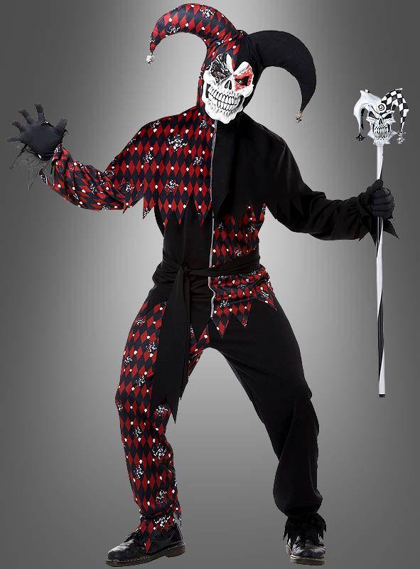 Narrenkostum Halloween Bei Kostumpalast De Clown Kostum Halloween Kostum Karneval Outfits