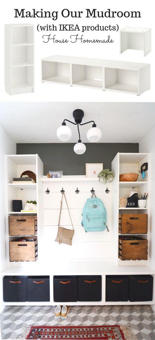 Making Our Mudroom: mit IKEA Produkten | Haus haus…