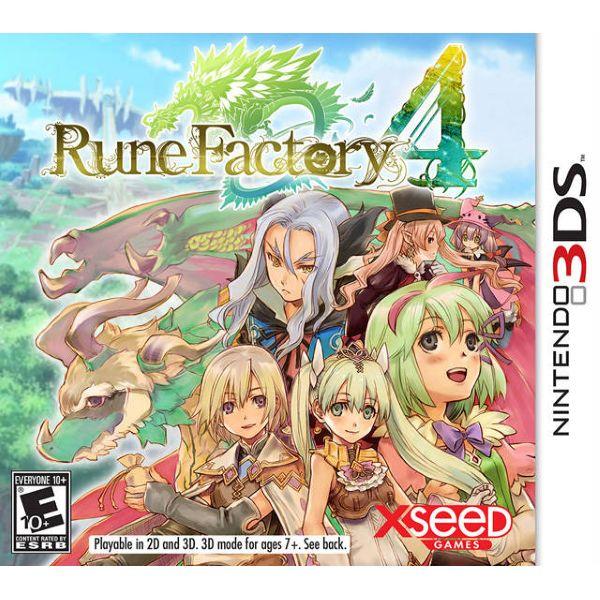 Rune Factory 4 [Nintendo 3DS]