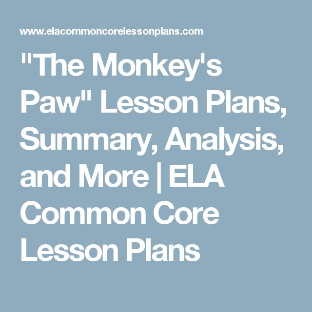 thesis statement about monkeys paw What is a good thesis statement for a research paper greed essay jokes list of vocabulary for essay writing monkey paw analysis essay is the war on drugs working essays good introductions to college essays michael angold fourth crusade essays an essay phrases gap year medical school essay.