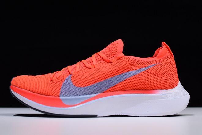 Nike Zoom VaporFly 4% Flyknit Bright CrimsonIce Blue AJ3857